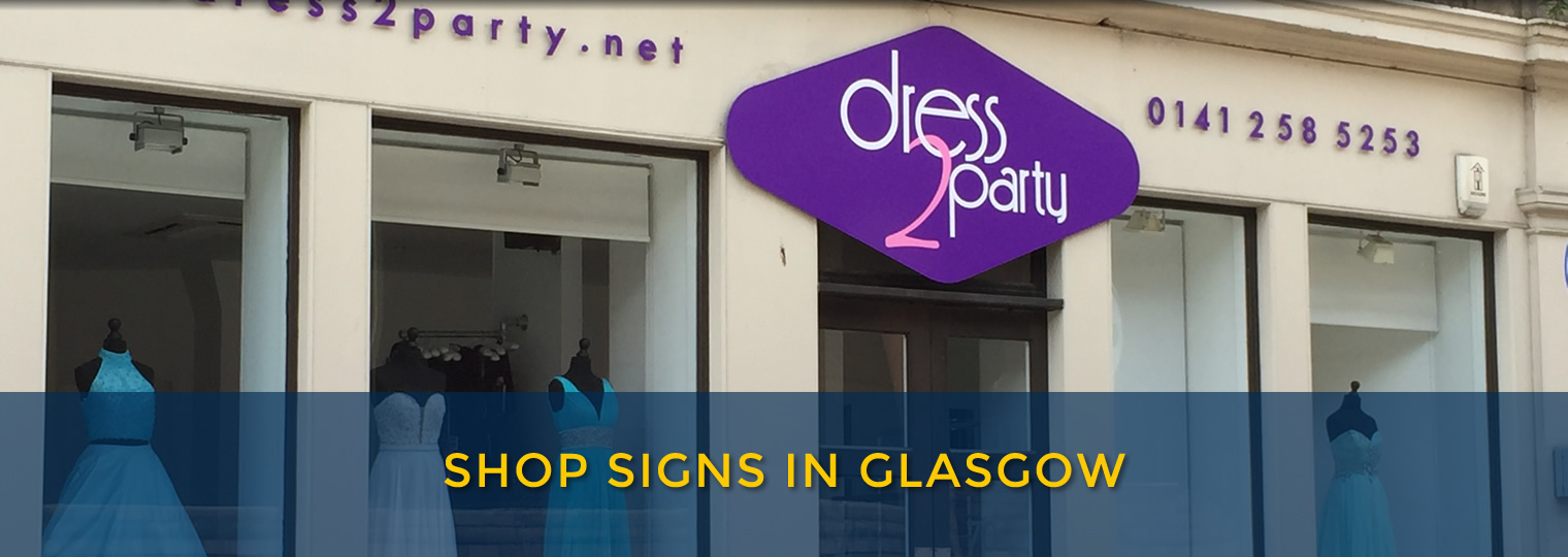 Signs in Glasgow